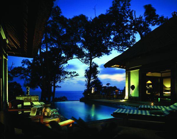 BANYAN TREE ホテル
